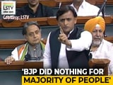 "Video : ""What's Your Excuse For UP?"": Combative Akhilesh Yadav Over Article 370"