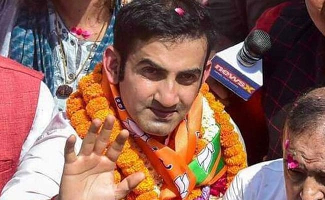 Gautam Gambhir Taunts AAP After Centre Authorises Illegal Colonies In Delhi