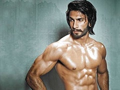 Ranveer Singh Posts 'Extra Gluten' Shirtless Pic. The Internet Thinks It's 'Mind Blowing'