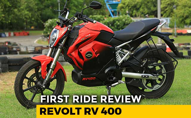 Video : Revolt RV 400 First Ride Review