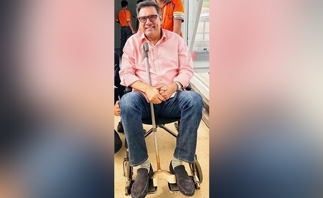 Back Pain Put Boman Irani In A Wheelchair, Here