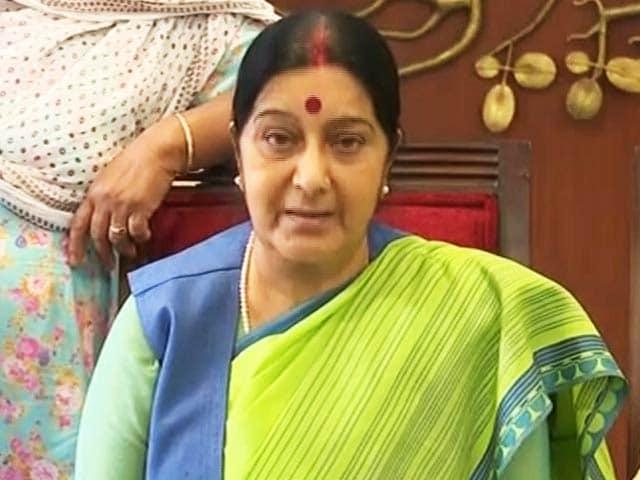 Video : Mourning Sushma Swaraj, Everyone Remembers That Hilarious Mars Tweet