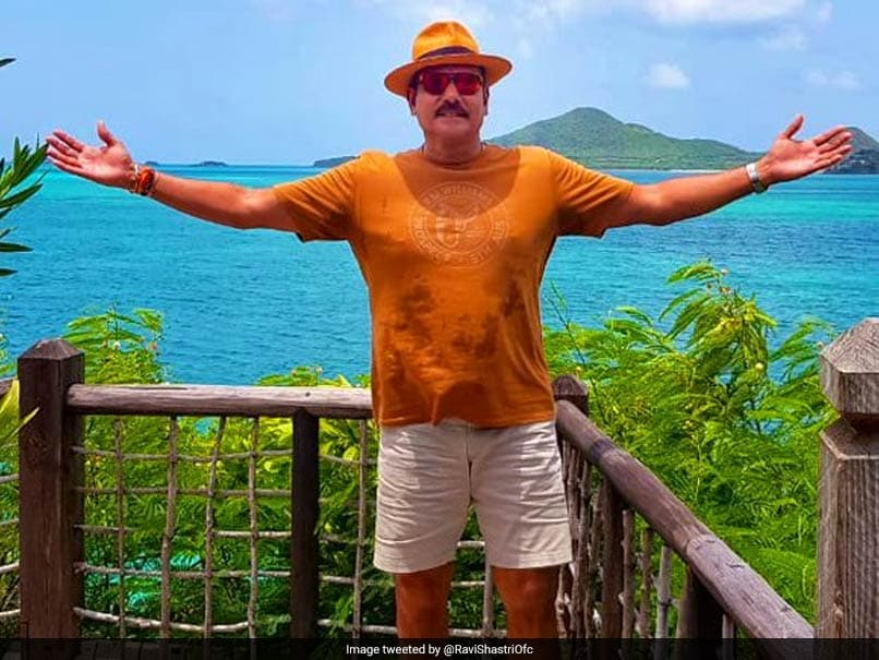 Team India Coach Ravi Shastri posts picture from Coco Bay beach, Gets Trolled Instantly
