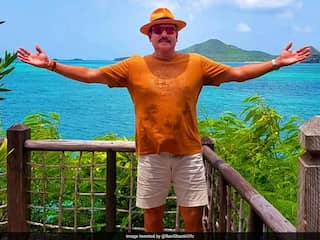 "Ravi Shastri Posts Picture From ""Coco Bay"", Gets Trolled Instantly"