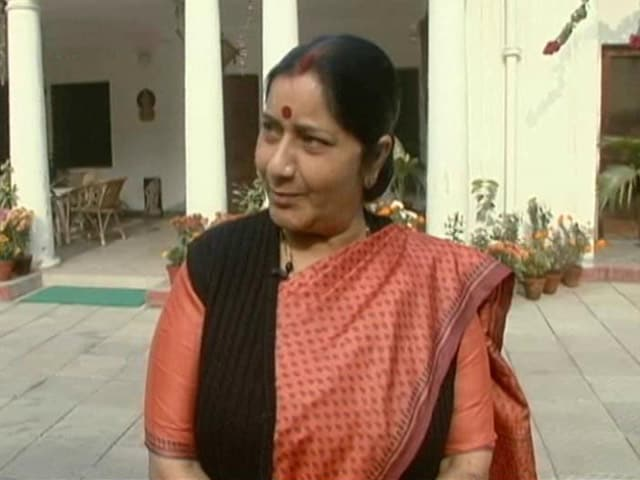 Video : Walk The Talk With Sushma Swaraj (Aired: January 2011)