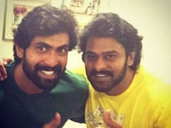 <i>Saaho</i>: Prabhas Gets A Special Message From <I>Baahubali</I> Co-Star Rana Daggubati