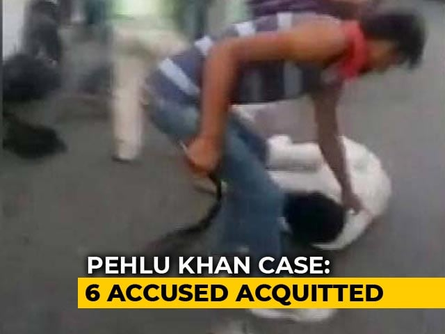 "Video : Rajasthan Government To Challenge ""Shocking"" Verdict In Pehlu Khan Case"