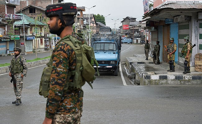 "Security Forces ""Maintaining Pressure On Terrorists,"" Says J&K Top Cop"