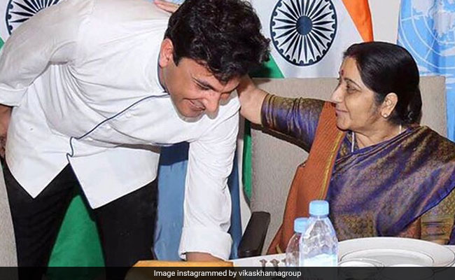 'Spirit Of Mother India': Chef Vikas Khanna's Tribute To Sushma Swaraj