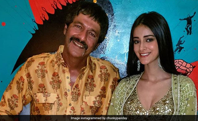 Ananya's Reaction To Dad Chunky Panday's 'Daughter Not As Wild As I Was' Comment