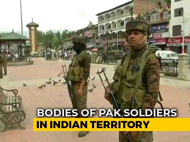 Video : Army Asks Pak To Take Back Bodies Of 5 Intruders, Come With White Flags