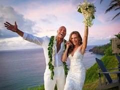 'द रॉक' ने गर्लफ्रैंड के साथ की शादी, 11 साल से कर रहे थे डेट
