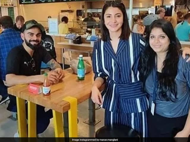 Virat And Anushka Were Spotted With Friends In Miami