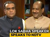 "Video : ""Opposition Must Get Equal Time,"" Lok Sabha Speaker Om Birla Tells NDTV"