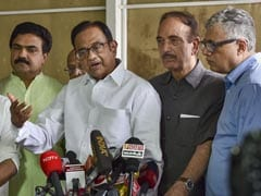 "Has ""Muscular Nationalism"" Resolved Any Conflict In World?: P Chidambaram"