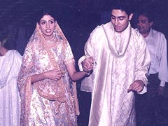 'The Bride Wore White': Priceless Pics From Shweta Bachchan Nanda's Wedding Festivities, Circa 1997