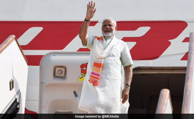 PM Modi Arrives In France To Attend G7 Summit, Will Speak On Global Issues