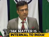 "Video : ""Pak Should Behave Like Normal Neighbour, Not Push Terrorists"": Centre"