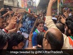 Priyanka Gandhi Visits UP Village Where 10 Were Killed In Shootout