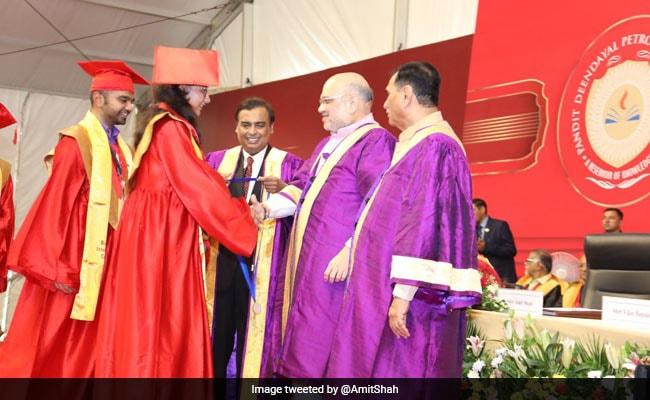 मुकेश अंबानी ने अमित शाह को बताया 'भारत का लौह पुरुष', बोले- 'अमित भाई आप...'