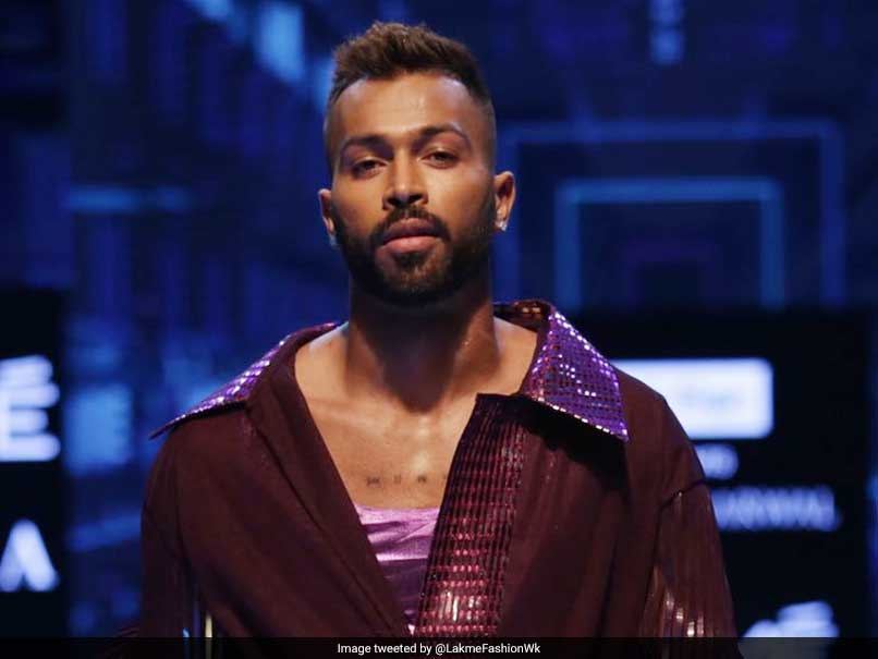 Hardik Pandya Rules The Catwalk In Break From Cricket. See Pictures