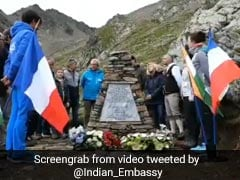 PM Inaugurates Memorial Honouring Victims Of 2 Plane Crashes In France