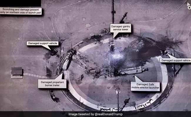 Trump Tweets Iran Missile Site Photo, Risking US Surveillance Secrets - NDTV News thumbnail