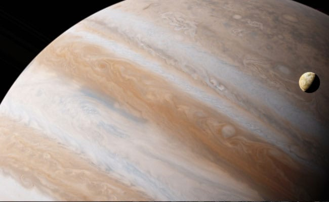 Jupiter Still Suffering From 4.5 Billion-Year-Old Collision With Planet