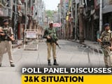 Video : After Big J&K Split, Election Body Meets To Discuss New Constituencies