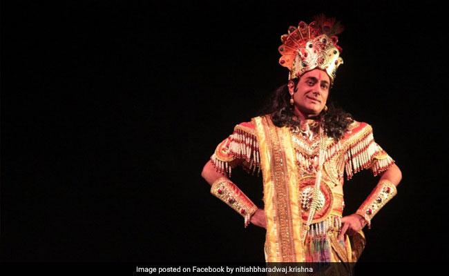 Nitish Bharadwaj Cast As Krishna Again, 30 Years After B R Chopra's Mahabharat