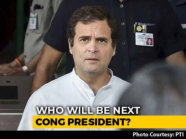 Video : Rahul Gandhi For Broader Consultation To Pick Congress Chief: Sources