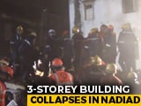 Video : 3 Killed, 5 Injured In Building Collapse In Gujarat