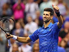 Hurting Novak Djokovic, Slow-Starting Roger Federer Win At Rain-Hit US Open