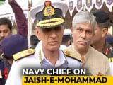 "Video : ""Terrorists Training For Underwater Attacks, But We're Ready"": Navy Chief"