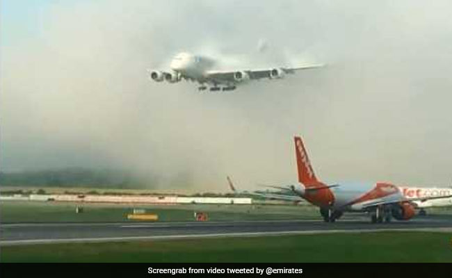 Watch: Aircraft's 'Grand Entrance' Through Clouds Is Viral