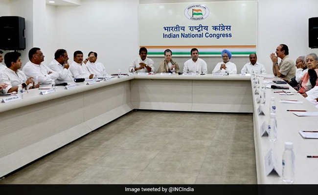 No Government Can Change Status Of J&K: Congress after Key Leaders' Meet