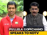 Video : PV Sindhu Has Huge Scope To Win Many More Medals: Coach Pullela Gopichand