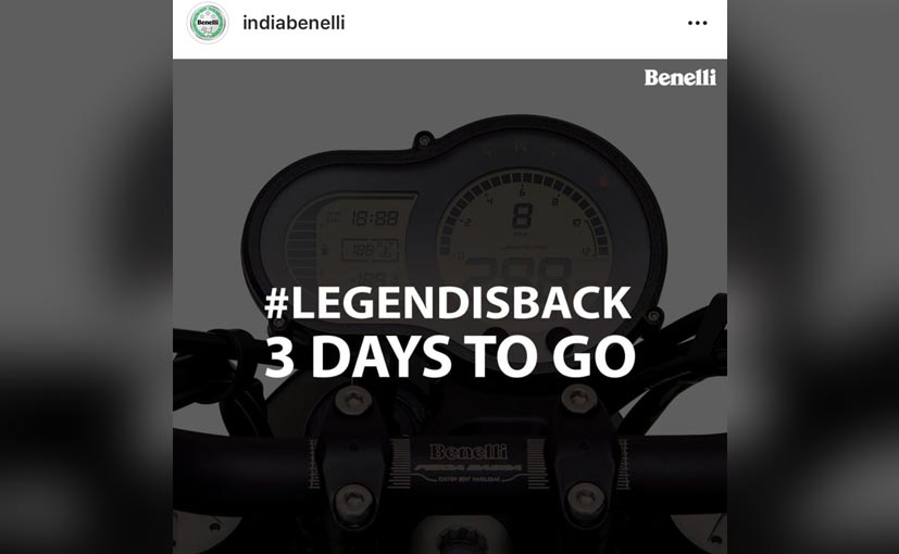 The Benelli Leoncino will be launched on August 5, 2019