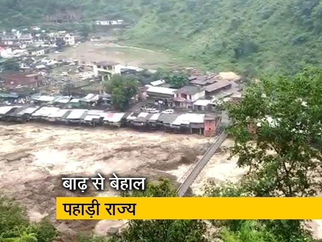 Videos : रवीश कुमार का प्राइम टाइम: उत्तर भारत के पहाड़ी राज्यों में विकराल हुईं नदियां