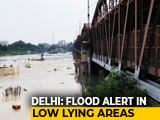 Video: Yamuna River Breaches Danger Mark In Delhi