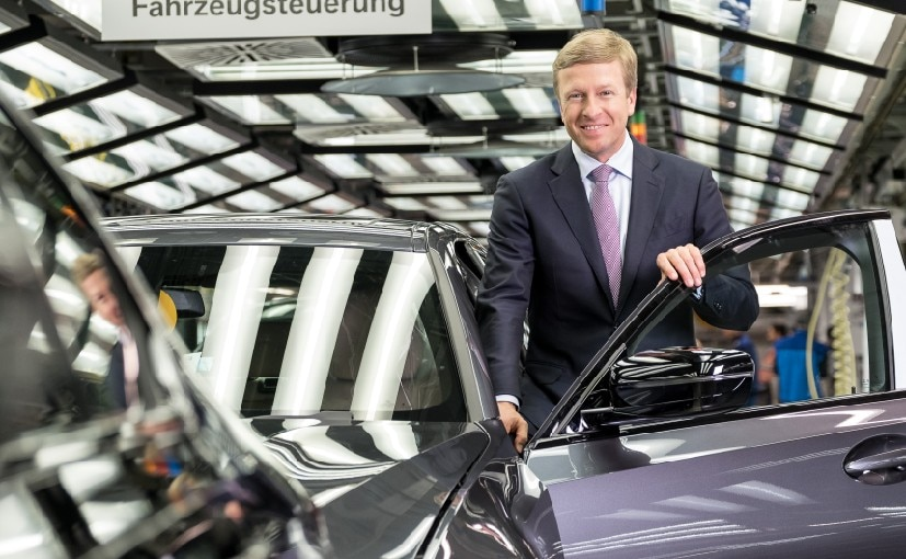 Oliver Zipse was appointed as BMW's new CEO earlier this year after Harold Krueger stepped down