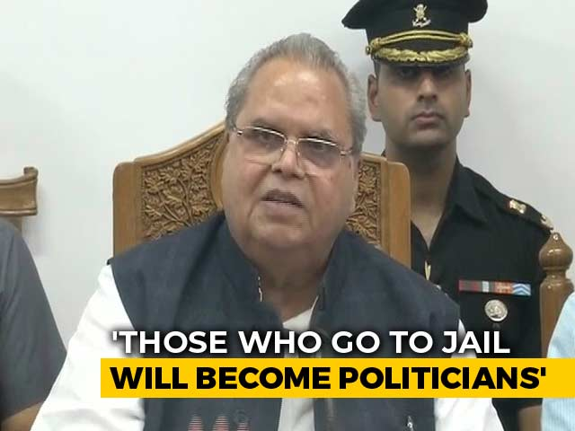 Video : Longer They Stay In, More Votes To Win: J&K Governor On Arrested Leaders
