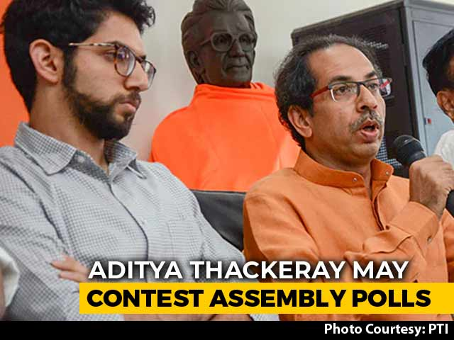 Video : Aaditya Thackeray May Become The First Of His Family To Contest Polls