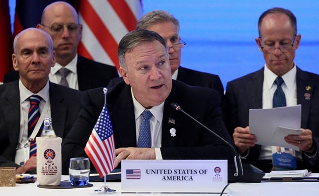 Pompeo says United States doesn't ask South-east Asians to take sides