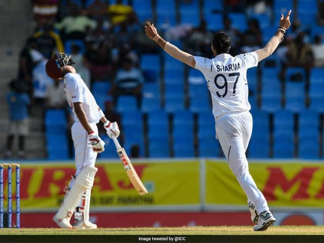 West Indies vs India 1st Test Day 2  LIVE Score, WI vs IND Live Cricket Score