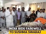 Video : Sushma Swaraj Cremated With State Honours. PM, Top Leaders Present