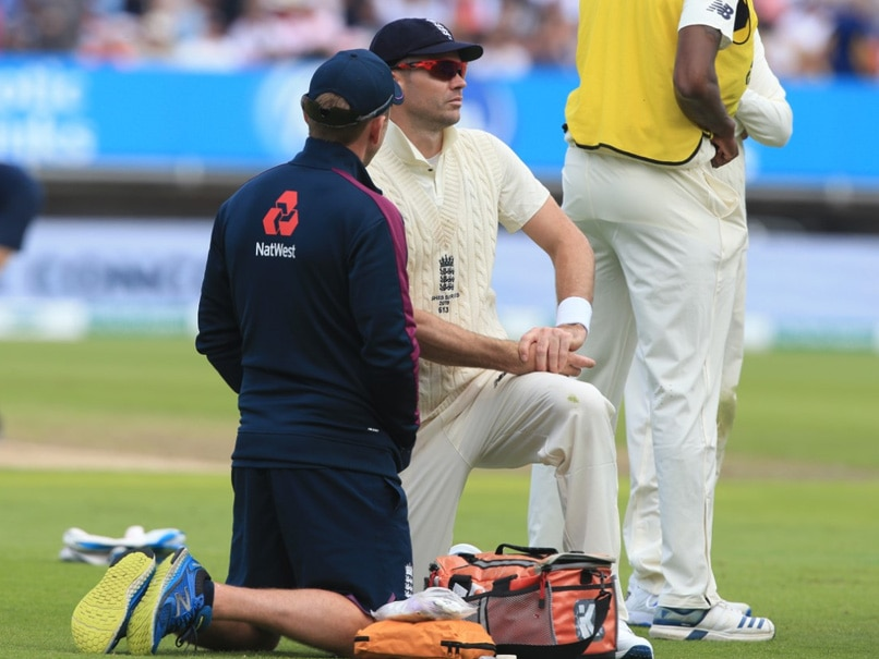 ENG vs AUS 1st Test: James Anderson apologised to team mates after re-injuring calf