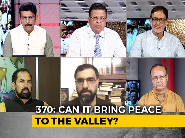 """Video : """"Not My India"""" Vs """"Will Die For Kashmir"""": Centre's J&K Move In 2 Emotions"""