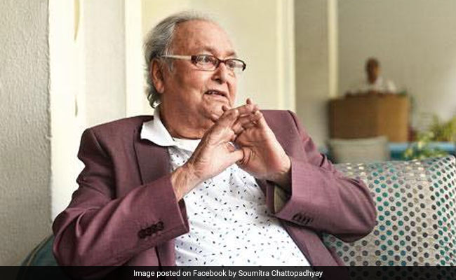 Actor Soumitra Chatterjee Hospitalised, 'No Threat To His Life,' Says Daughter