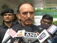 """""""No News From Home"""", Says Congress's Ghulam Nabi Azad As He Flies To J&K"""